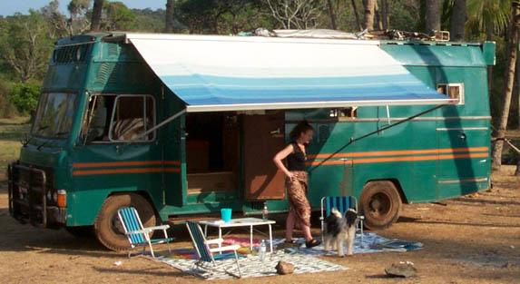 India camper motorhome